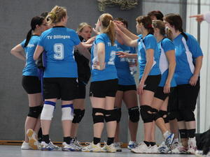 Heimspielpremiere der Dillinger Volleyballerinnen