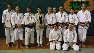 Erfolgreiche Shorinji Kempo Prfung zum 5. Dan beim 6. Europischen Taikai in Monaco