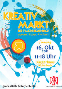kreativmarkt der falken in bickenbach