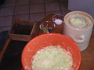 Sauerkraut selbermachen