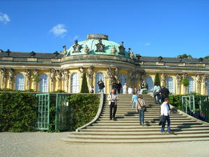 potsdamer schlsser und grten -schlo SANSSOUCI-