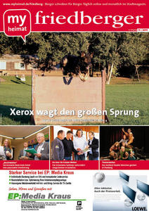 Jetzt neu: Das myheimat-Stadtmagazin friedberger 11/2011