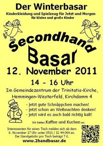 Der Winterbasar / Secondhand-Basar in Hemmingen