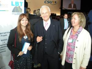 CSU Augsburg-Land Mentoring- Programm 'Politik sucht Frau': Geburtstag mit der Bundeskanzlerin, Erfahrungsbericht