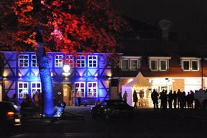 Feuerzauber in Seelze - Lichtilluminationen in der City