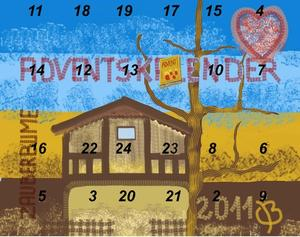 1. Fenster  Adventskalender 2011