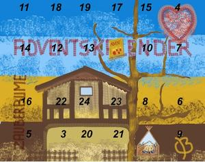  2. Fenster Adventskalender 2011