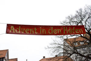 Advent in den Höfen in Quedlinburg