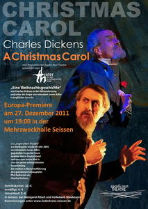 Aus Melbourne:am 27.12.2011 Europapremiere von Charles Dickens Weihnachtsgeschichte