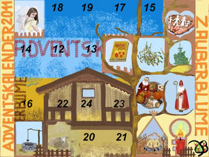 11. Fenster Adventskalender 2011 - Engel der Neugier