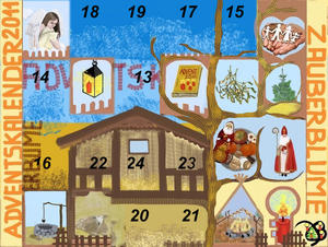 12. Trchen Adventskalender 2011 - Laterne der Seele