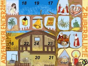 15. Fenster Adventskalender - Drei Heilige Knige