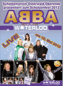 ABBA is here : »WATERLOO - A TRIBUTE TO ABBA«