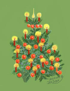 Christbaum / Tannenbaum geschmckt