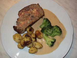 Gefllter Hackbraten  la Cordon Bleu