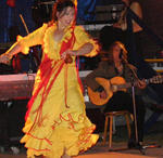 Kinder lernen Flamenco