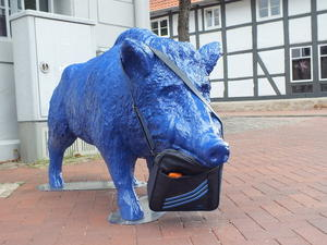 Zu dem Beitrag: Bunte Schweine in Springe Clemens Wlokas-am 19.07.2011