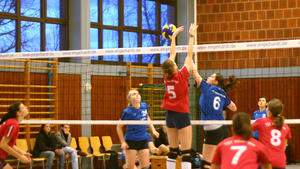 """We're all in"" – Nördlinger Volleyball im Dezember 2011"