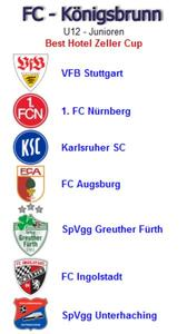 FC Knigsbrunn - super besetztes Hallenturnier am 21.01.2012 u.a. mit VfB Stuttgart, KSC, 1. FC Nrnberg, FC Augsburg, Greuther Frth...