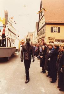 faschings Umzug 1984 in Lauingen
