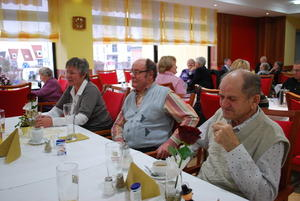 Neujahrsbrunch im AWO Seniorenheim am Friedberger Rothenberg