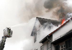 Wohnhausbrand 'Am Grn'