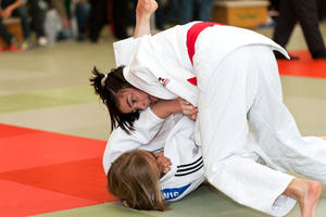 Hannah Deliu vom Judo-Club Godshorn wird U17 Landesmeisterin