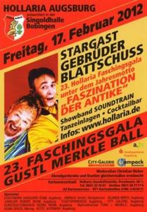 23. Faschingsgala Gustl Merkle Ball der HOLLARIA AUGSBURG
