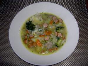 Gemsesuppe