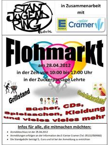 Stadtjugendring ldt zum Flohmarkt ein