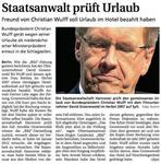 Soll er gehen? Christian Wulff keine Ende in Sicht...