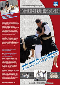 Shorinji Kempo - Info und Probetraining