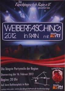 WEIBERFASCHING 2012 in RAIN mit Radio rt1