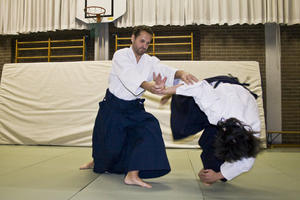 Groe AIKIDO Prsentation am 2. Germeringer Budo Tag