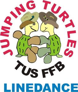 Auftritt der Linedancer der Jumping Turtles auf der Messe Forum for best und Workshop