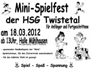 Mini - Spielfest der HSG Twistetal