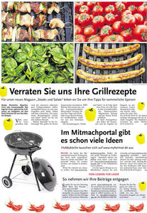 Wir planen ein Grillbuch - und suchen Eure Rezepte!