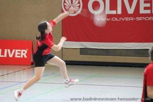 Badmintonteam Heesseler SV: A-Rangliste U13 - U15 Bahrdorf: Hanna Moses wird 3. im Mdcheneinzel U15 !