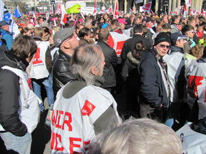 Streik und Demonstration in Hannover