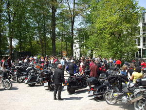 5. Frstenfeldbrucker Motorradgottesdienst mit Korso und Jubilums-Party
