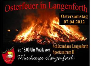 Osterfeuer in Langenforth - Ostersamstag ab 17.00Uhr