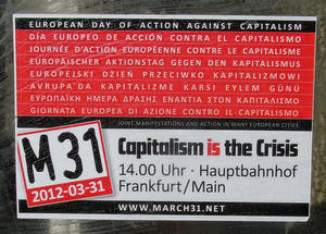 M31 - Aufruf zum Krawall? Anti-Kapitalismus-Demonstration