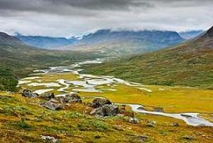Trekking in Lappland