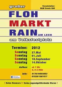 1. Groer Flohmarkt 1012 in Rain