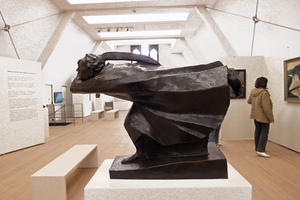 Ernst Barlach, 'Der Rcher', 1914, Bronze, Kulturhistorisches Museum Rostock