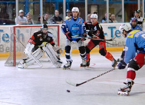 Begeisterndes Inlinehockey bei Neuauflage des Finals: ICK unterliegt Germering im Shoot-Out