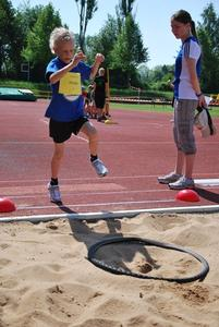 Kinderleichtathletik in Bobingen