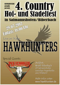 www.hawkhunters.de - COUNTRY HOF- u. STADELFEST am 28.07.2012 in Salmannshofen