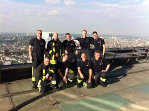 6. MesseTurm SkyRun in Frankfurt