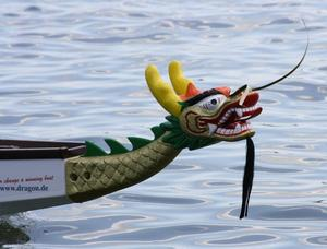 Der Drache auf dem Wasser